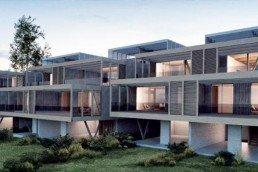 gran instalación de ventanas de pvc