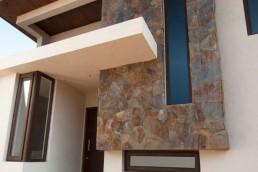 Casa con perfiles diseñados