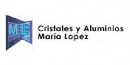 cristales y aluminios María Lopez logo