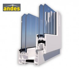 perfiles pvc andes