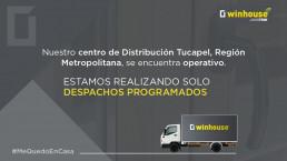 centro distribucion santiago operativo solo despachos