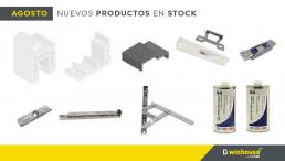 agosto nuevos productos stock
